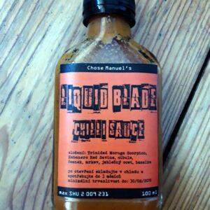 LIQUID BLADE CHILLI SAUCE - Chose Manuel's Chilli Sauce