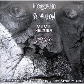 NASUM / RETALIATION / VIVISECTION / CSSO 4 way split LP