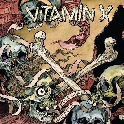 VITAMIN X - Full Scale Assault LP