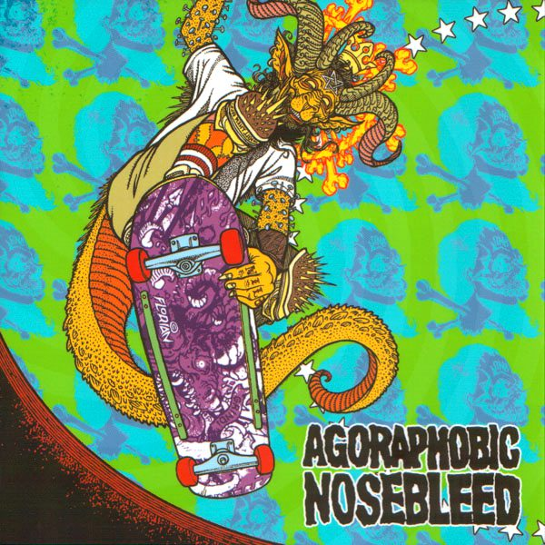 AGORAPHOBIC NOSEBLEED / TOTAL FUCKING DESTRUCTION split EP