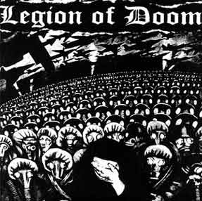 LEGION OF DOOM - A Planet On Its Knees EP