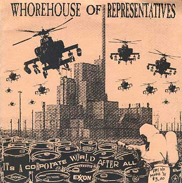 WHOREHOUSE OF REPRESENTATIVES - It´s A Corporate World After All EP