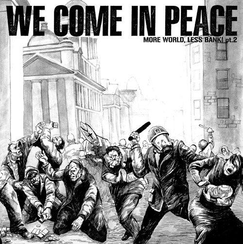 V/A WE COME IN PEACE - compilation EP