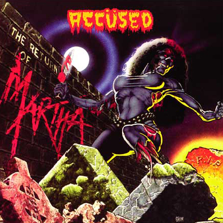 ACCÜSED - Return Of The Martha SplatterHead LP