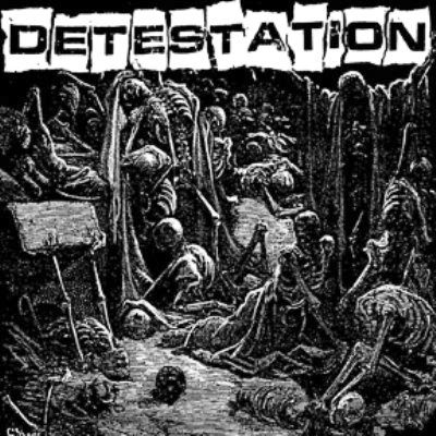 DETESTATION - s/t LP