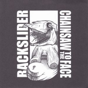 BACKSLIDER / CHAINSAW TO THE FACE split EP