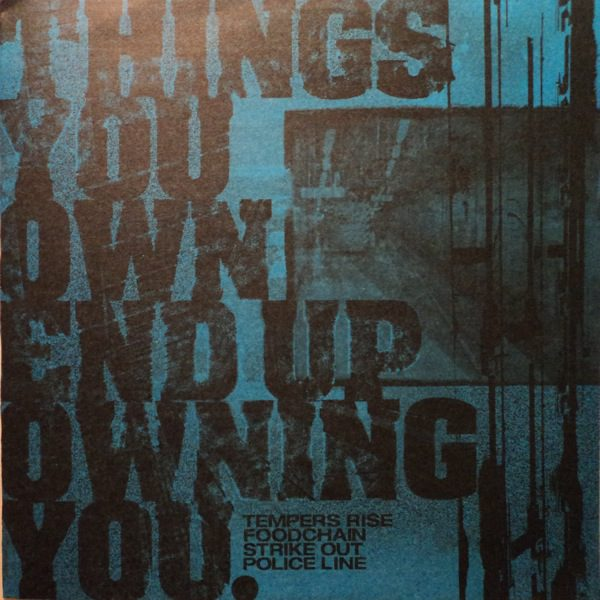 V/A THINGS YOU OWN ENDING UP OWNING YOU compilation EP