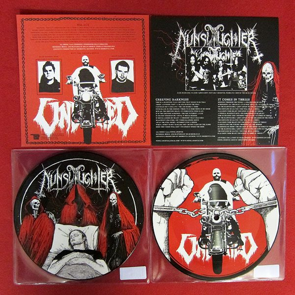 NUNSLAUGHTER / UNBURIED split picture EP
