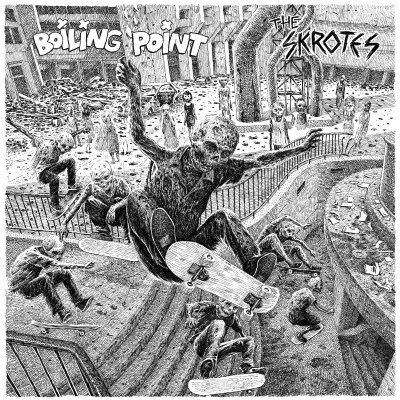 BOILING POINT / THE SKROTES split EP