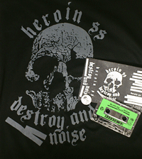 HEROIN SS - Destroy and Noise CASS