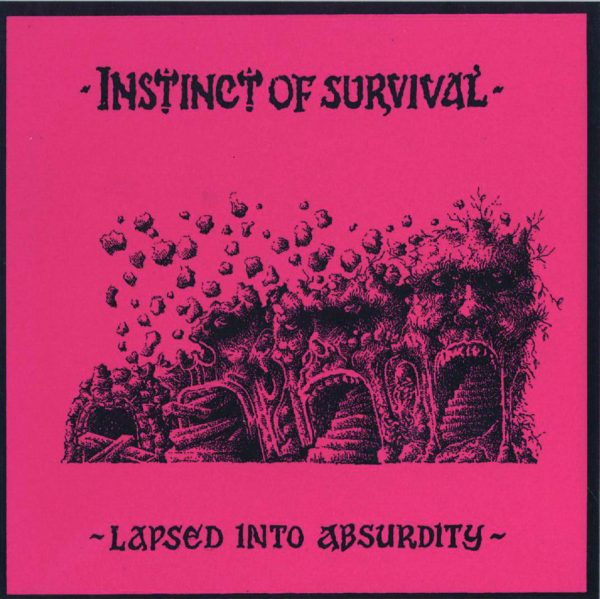 INSTINCT OF SURVIVAL - Lapsed into Absurdity 7EP flexi""