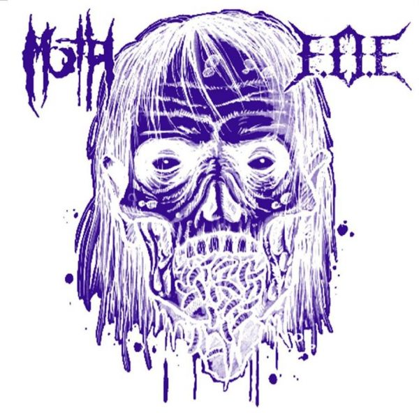 PR 073 FEAR OF EXTINCTION / MARCH OF THE HORDES split EP (marbled - limitovaná edice)