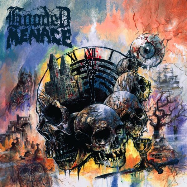 HOODED MENACE - Labyrinth Of Carrion Breeze LP