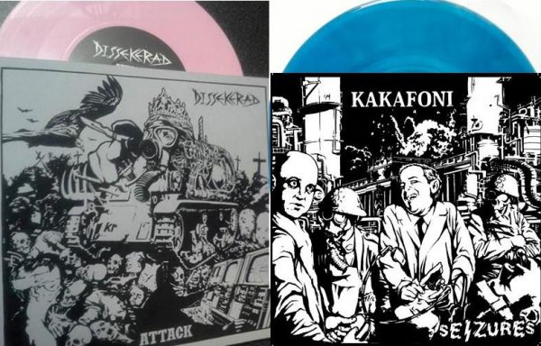 SPC012 DISSEKERAD - Attack EP (limit) & KAKAFONI - Seizures EP (limit)
