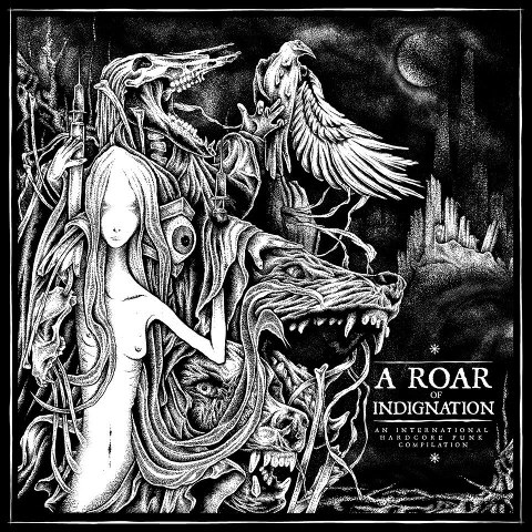 V/A A ROAR OF INDIGNATION - compilation LP