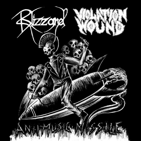 VIOLATION WOUND / BLIZZARD split EP
