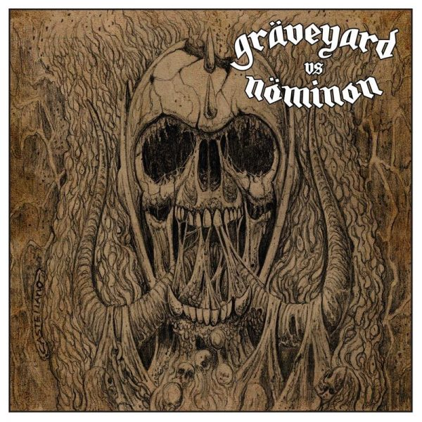 GRAVEYARD / NOMINON split EP