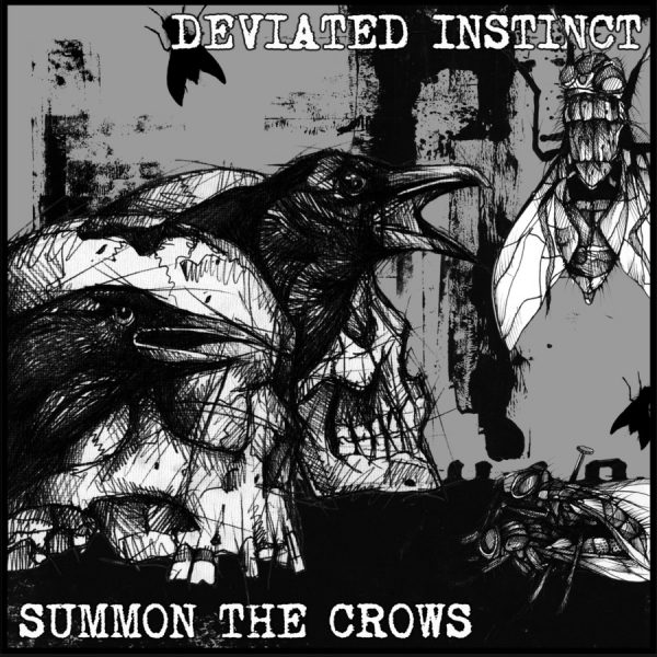 DEVIATED INSTINCT / SUMMON THE CROWS split EP