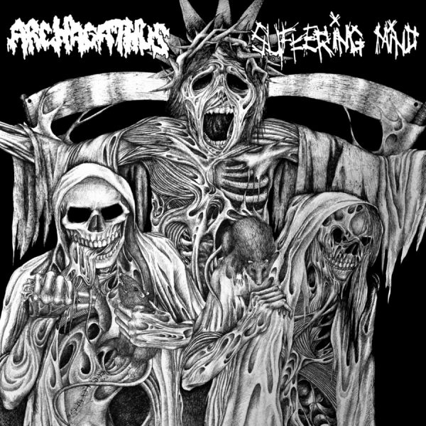 ARACHAGATHUS / SUFFERING MIND split EP