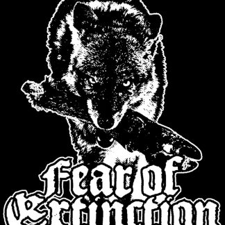FEAR OF EXTINCTION - wolf (zádovka)