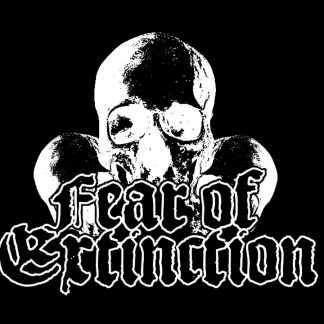 FEAR OF EXTINCTION - skulls (zádovka)
