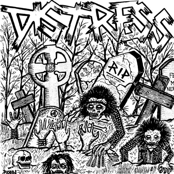 DISTRESS - s/t EP (2nd press)