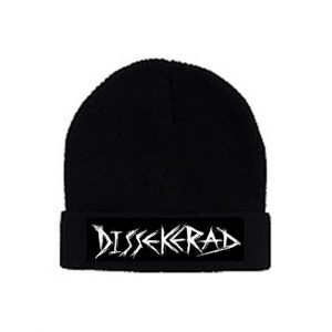 DISSEKERAD - ohrnovací kulich / turn-up beanie