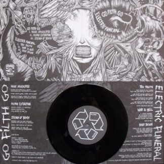 PR 056 ELECTRIC FUNERAL / GO FILTH GO split EP