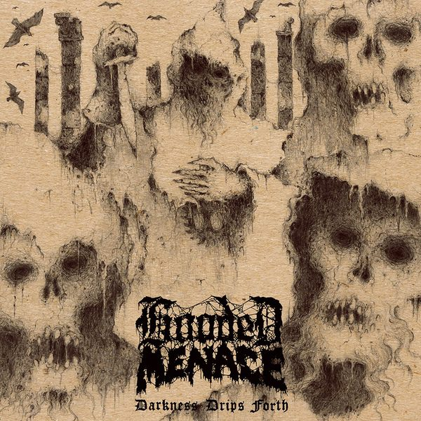 HOODED MENACE - Darkness Drips Forth LP