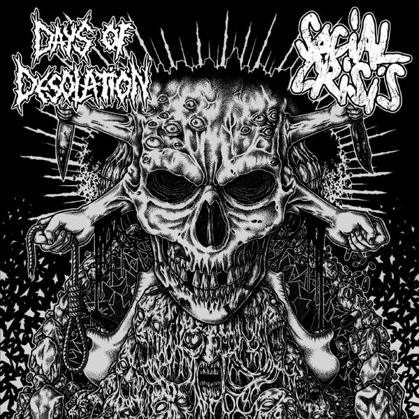 DAYS OF DESOLATION / SOCIAL CRISIS split EP