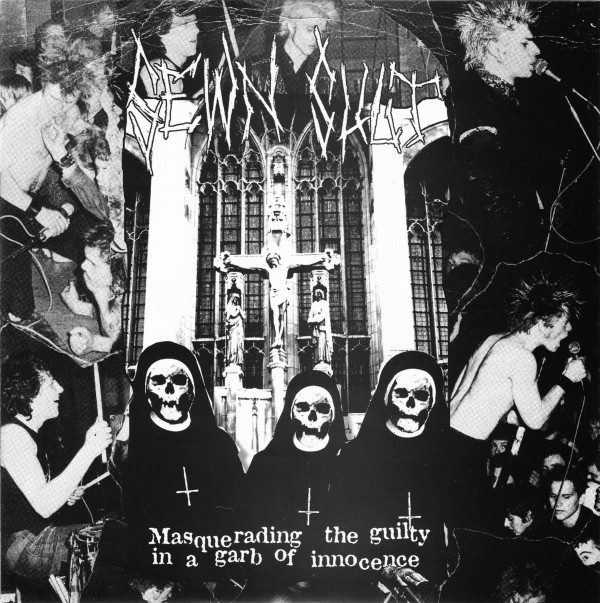 SEWN SHUT - Masquerading The Guilty In A Garb Of Innocence EP