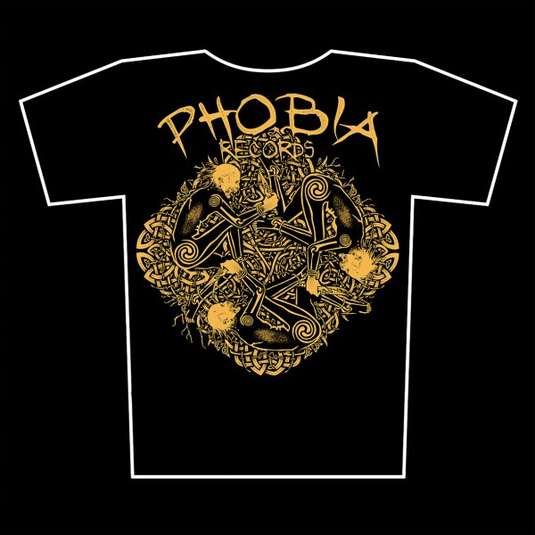 PHOBIA RECORDS triko 2016 - design Sean Fitzgerald