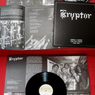 KRYPTOR - Neřest a ctnost / Vice and virtue (demo 1988) LP box