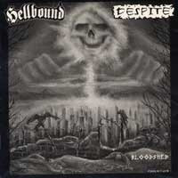 HELLBOUND / DESPITE split LP