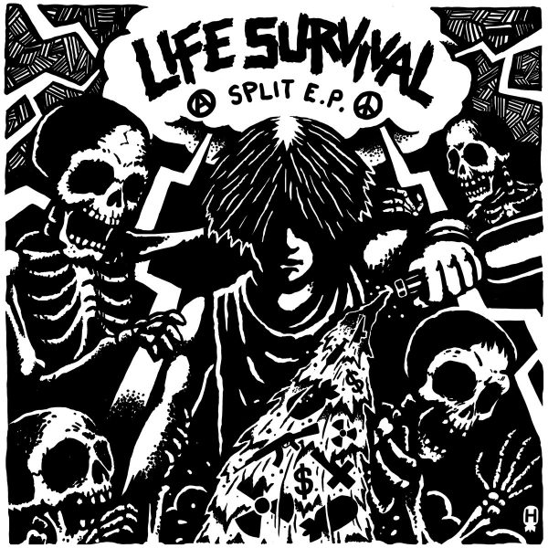 INSTINCT OF SURVIVAL / LIFE split EP