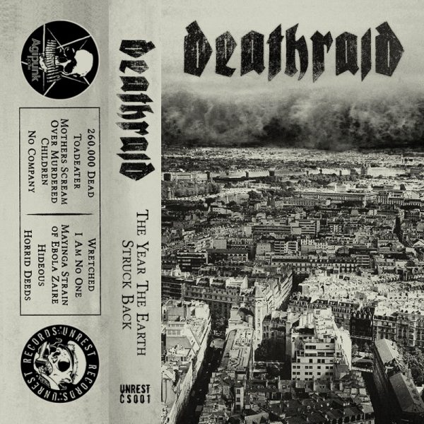DEATHRAID - The Year The Earth Struck Back CASS