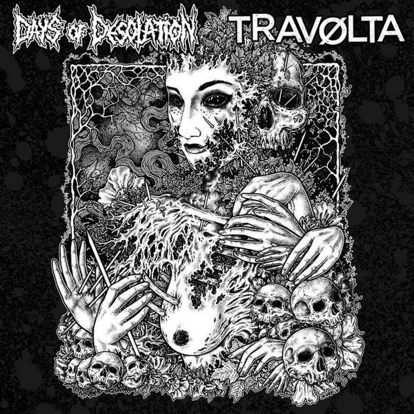 DAYS OF DESOLATION / TRAVØLTA split 10LP""