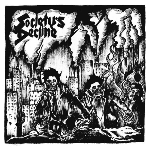 PR 090 SOCIETY'S DECLINE - 6 Track EP (repres - bílý vinyl)