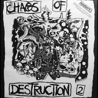 V/A CHAOS OF DESTRUCTION vol. 2 - double LP