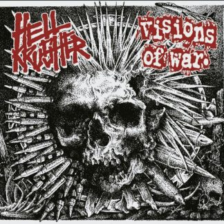 HELLKRUSHER / VISIONS OF WAR split EP