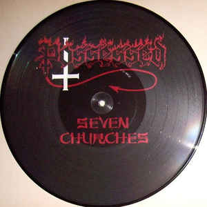 POSSESSED - Seven Churches picture LP