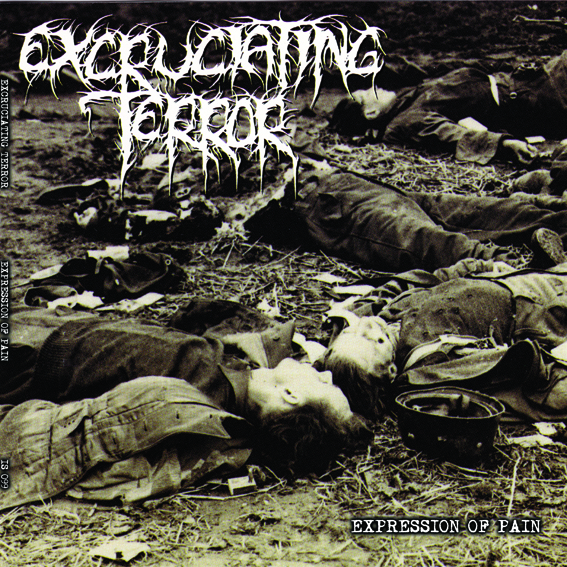PR 150 EXCRUCIATING TERROR - Expression Of Pain LP