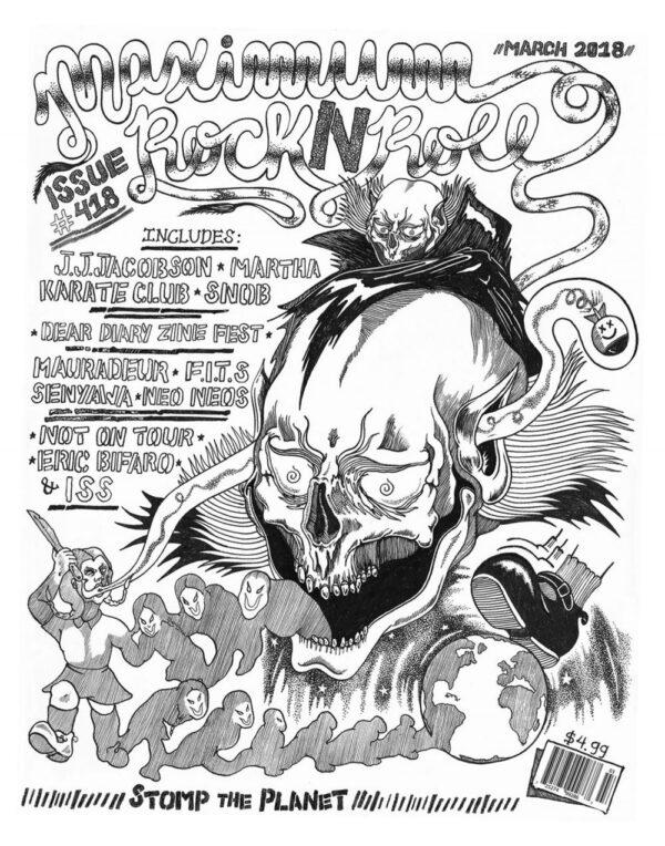 MAXIMUM ROCKNROLL #418