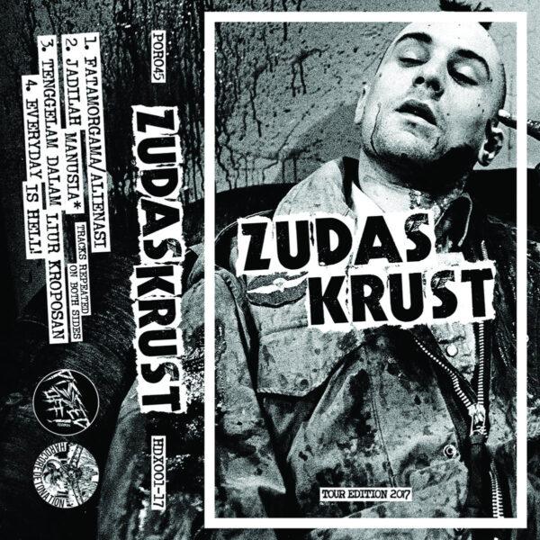 ZUDAS KRUST - Raw Hardcore Punx Inferno Tour CASS