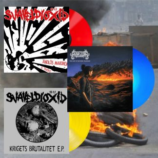 SVAVELDIOXID - Ändlös Mardröm LP + Krigets Brutalitet EP + ADRESTIA - The Art Of Modern Warfare LP