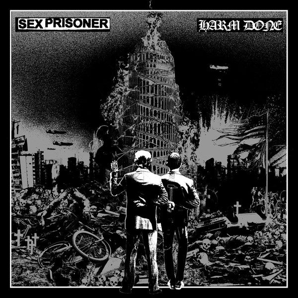 SEX PRISONER / HARM DONE split LP (US version)