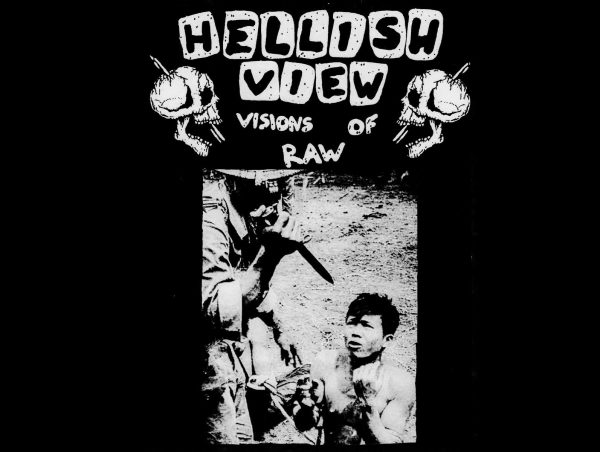 HELLISH VIEW - Visions Of Raw CASS