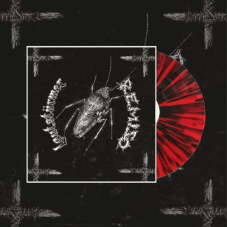 PR 162 LAUTSTÜRMER / REMISO split LP (red / black splatter)