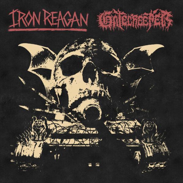 IRON REAGAN / GATECREEPER split LP