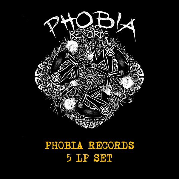 PHOBIA RECORDS - 5 x LP SET